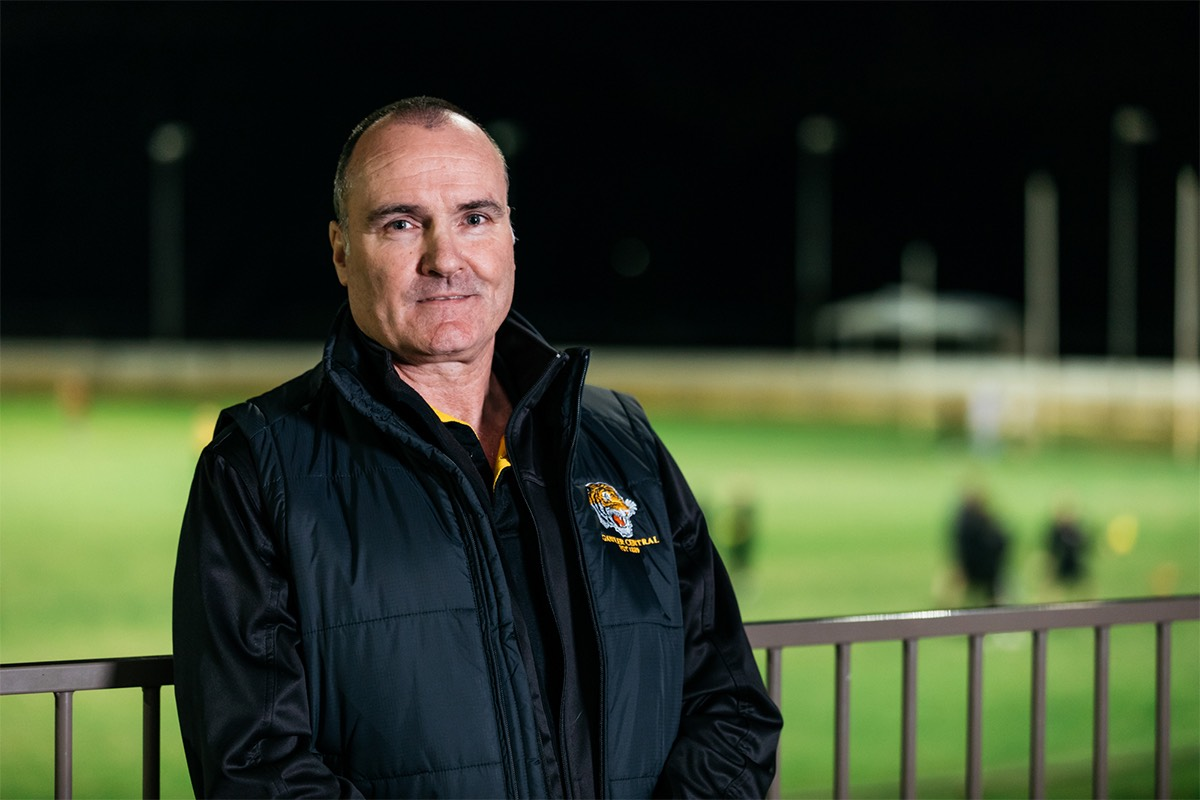 Meet Tom Lane, President of the Gawler Central Football Club